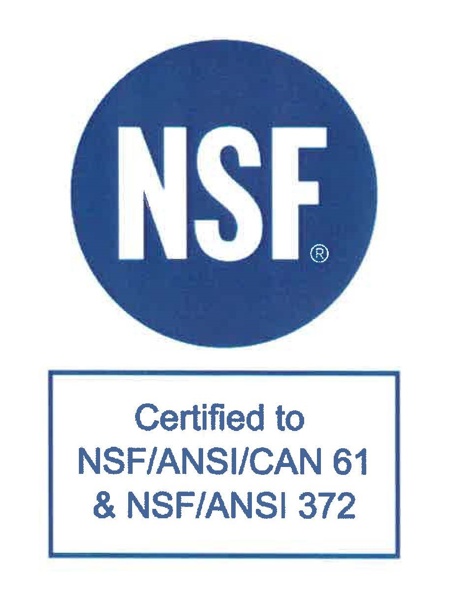 NSF/ANSI/CAN Certification Seal