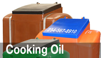 Our Collector Tanks to provide secure indoor or outdoor containment for 80, 125, 200, 275, or 325 gallons of used cooking oil.
