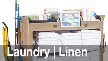 We've designed products based upon input from linen & laundry managers to increase productivity and efficiency.